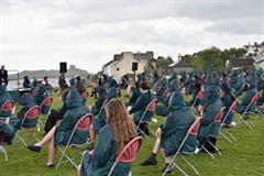 Graduation in a Storm