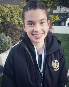 Congratulations to Alexandra Doyle (1st Year)