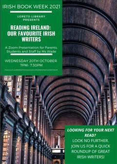 Reading Ireland: Our Favourite Irish Writers Zoom Event